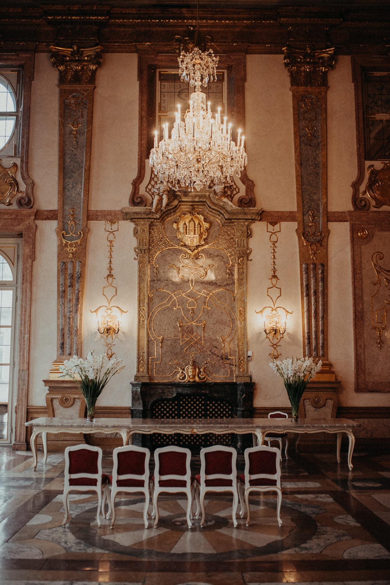 marmorsaal salzburg mirabell palace austria