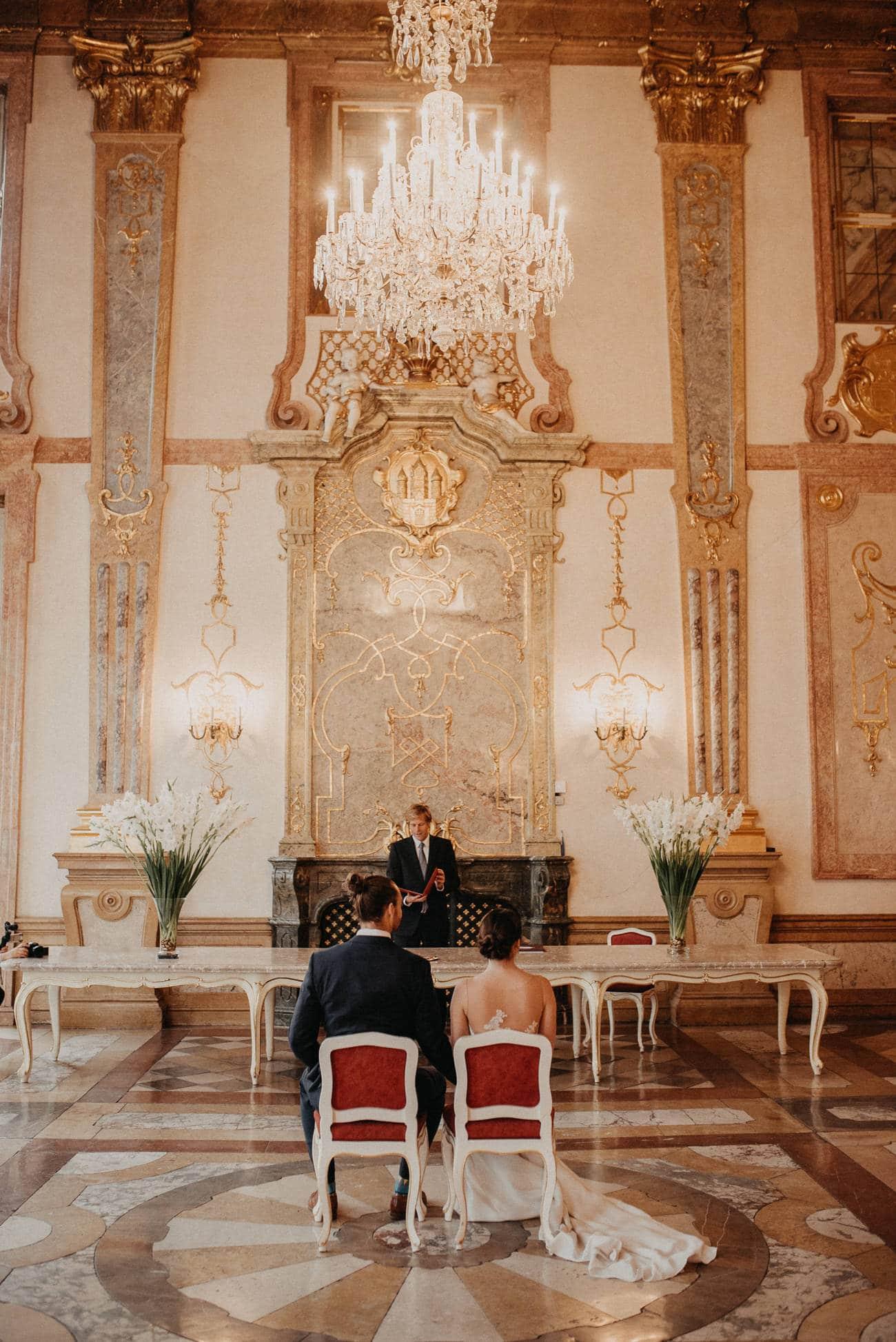 Marmorsaal Hochzeitsfotograf Schloss Mirabell