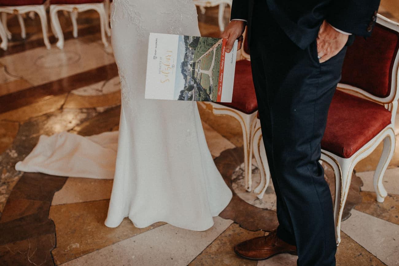 Amazing wedding in beautiful Palace Mirabell Salzburg