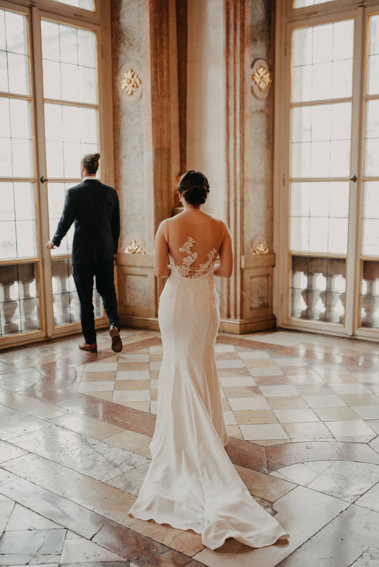 Wedding session in Palace Mirabell