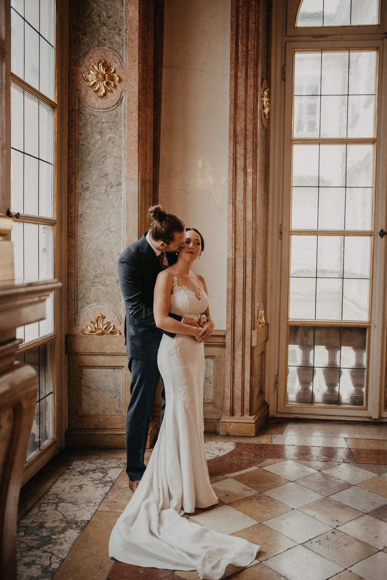 Verlobungs Session in Schloss Mirabell Salzburg