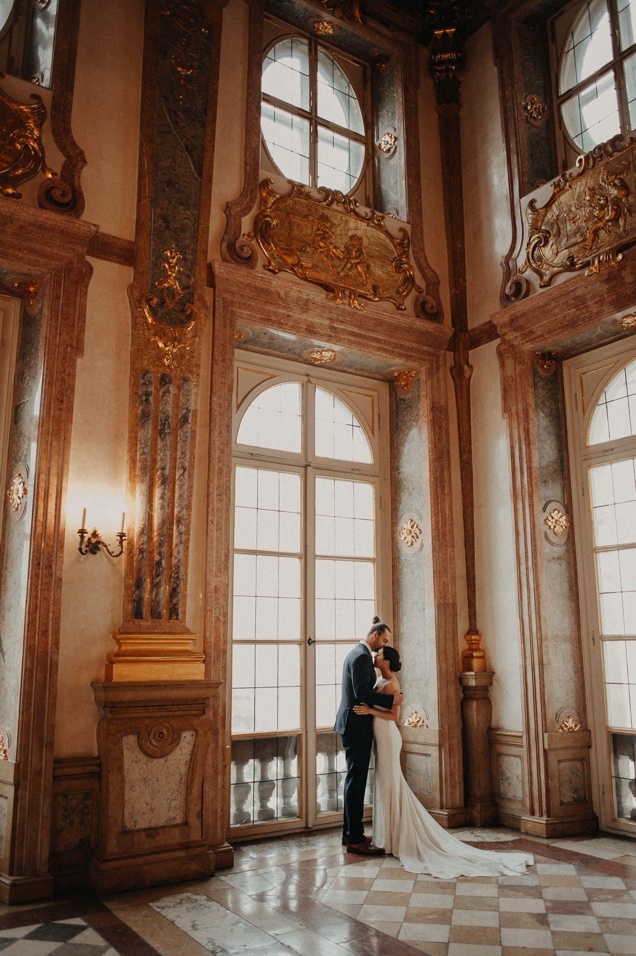 Hochzeitsfotograf Schloss Mirabell