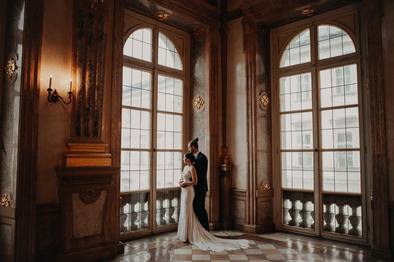 Hochzeitsfotograf Salzburg Schloss Mirabell Marmorsaal