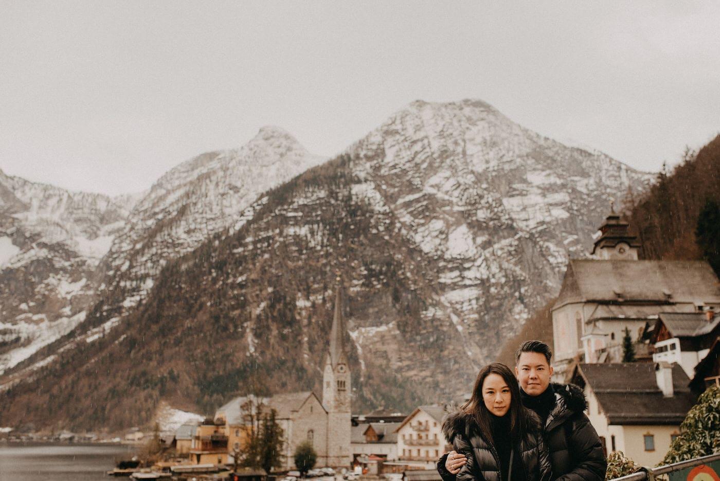 Verlobungs session in Hallstatt Österreich