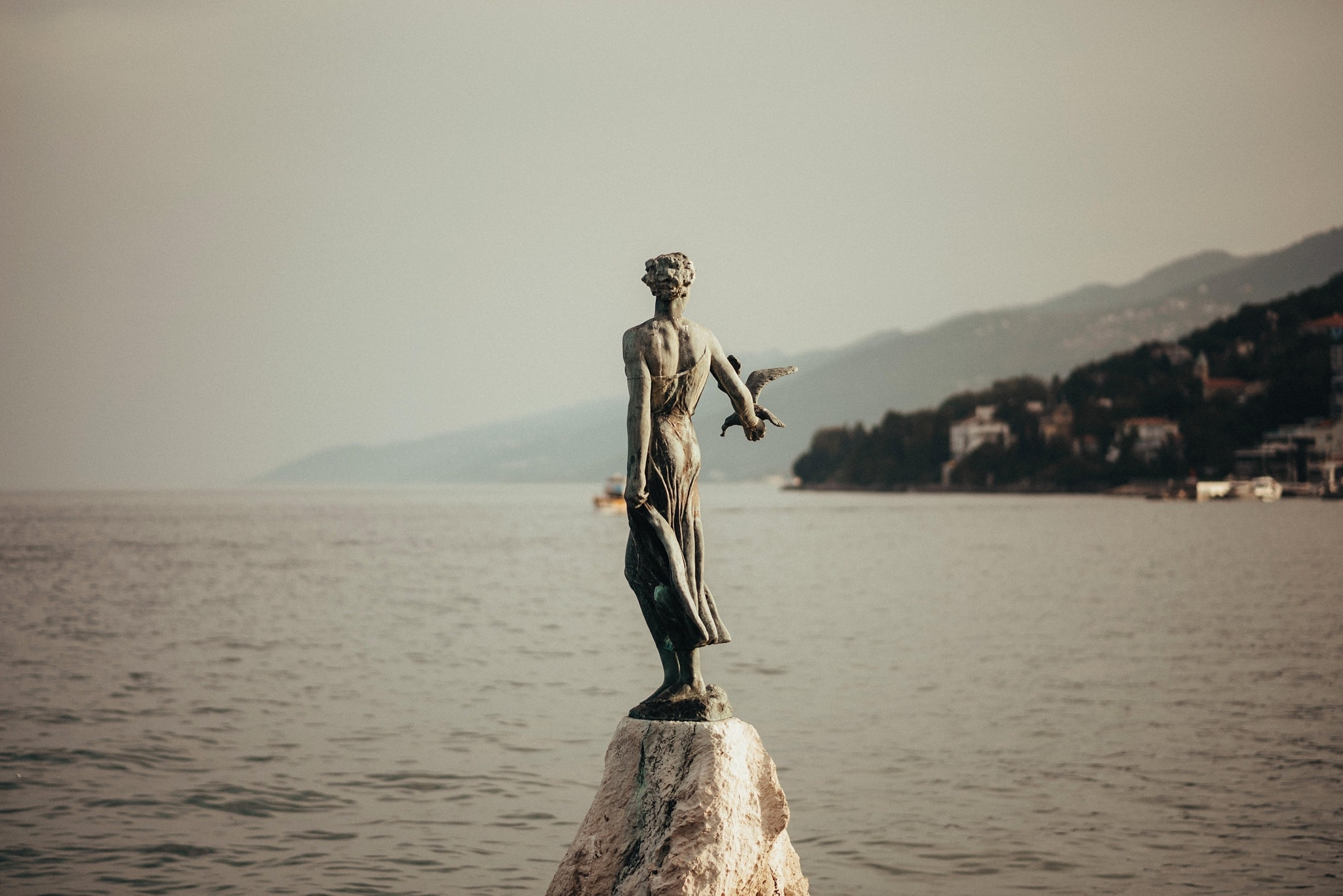 Opatija's Maiden with the Seagull
