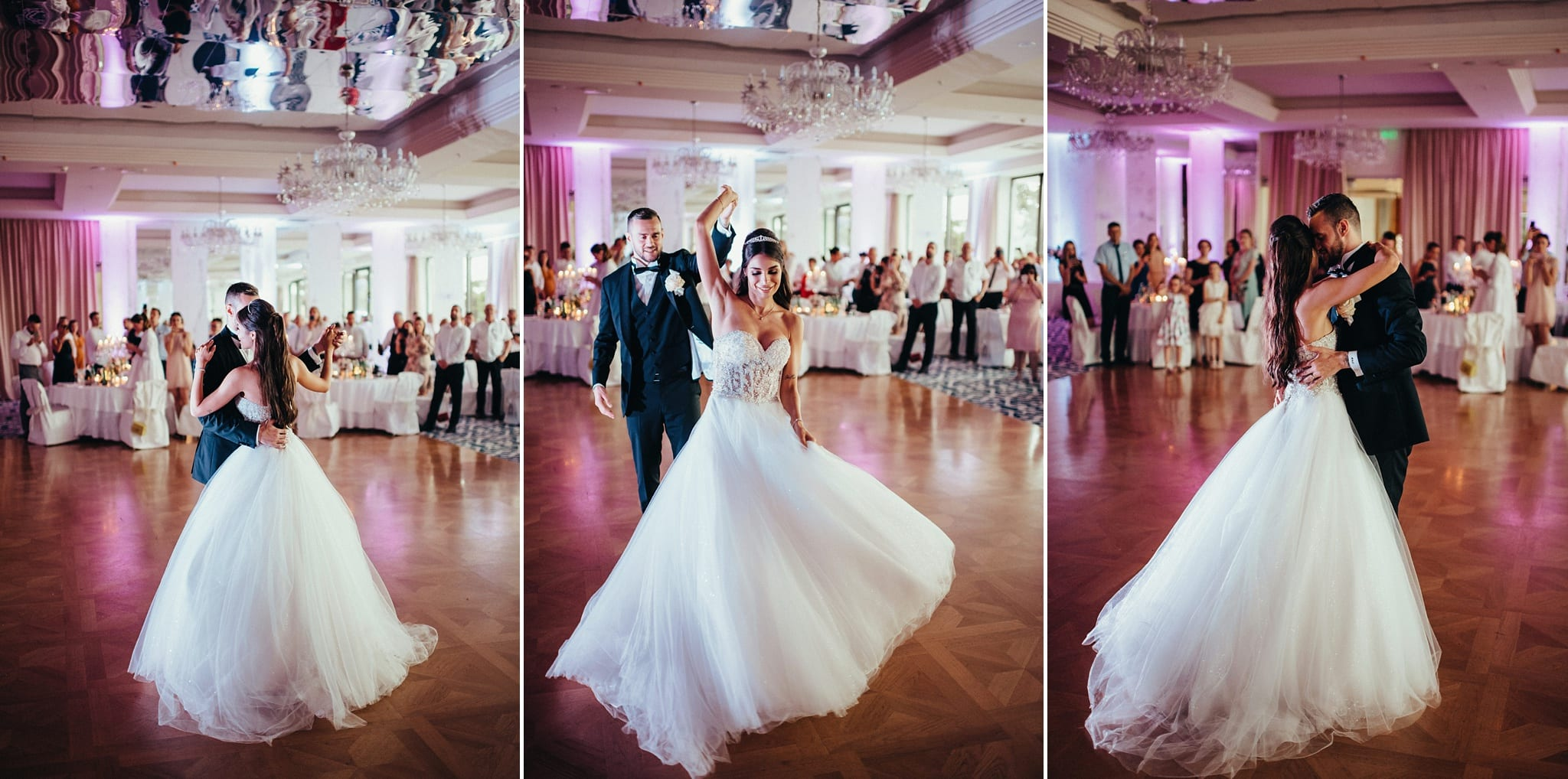 opatija wedding photographer traps perfect moments of first dance