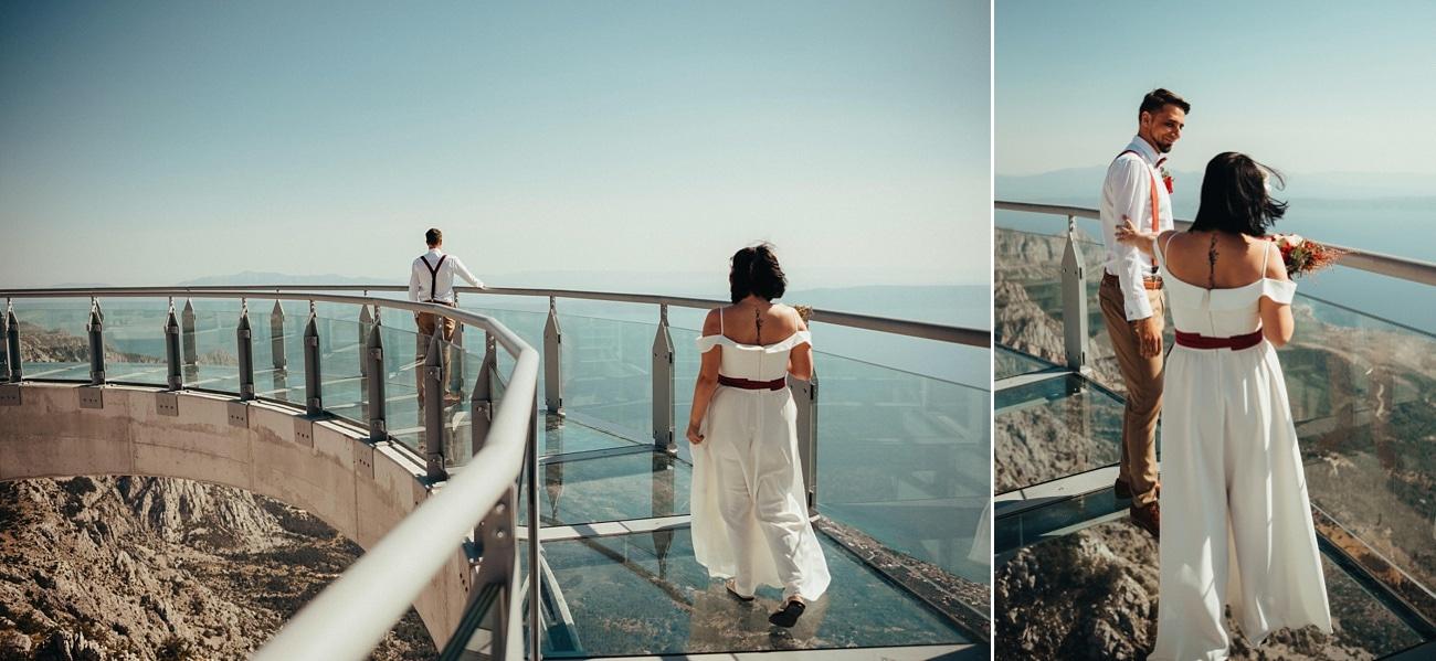 biokovo skywalk wedding photographer 0003 - Biokovo Skywalk Wedding