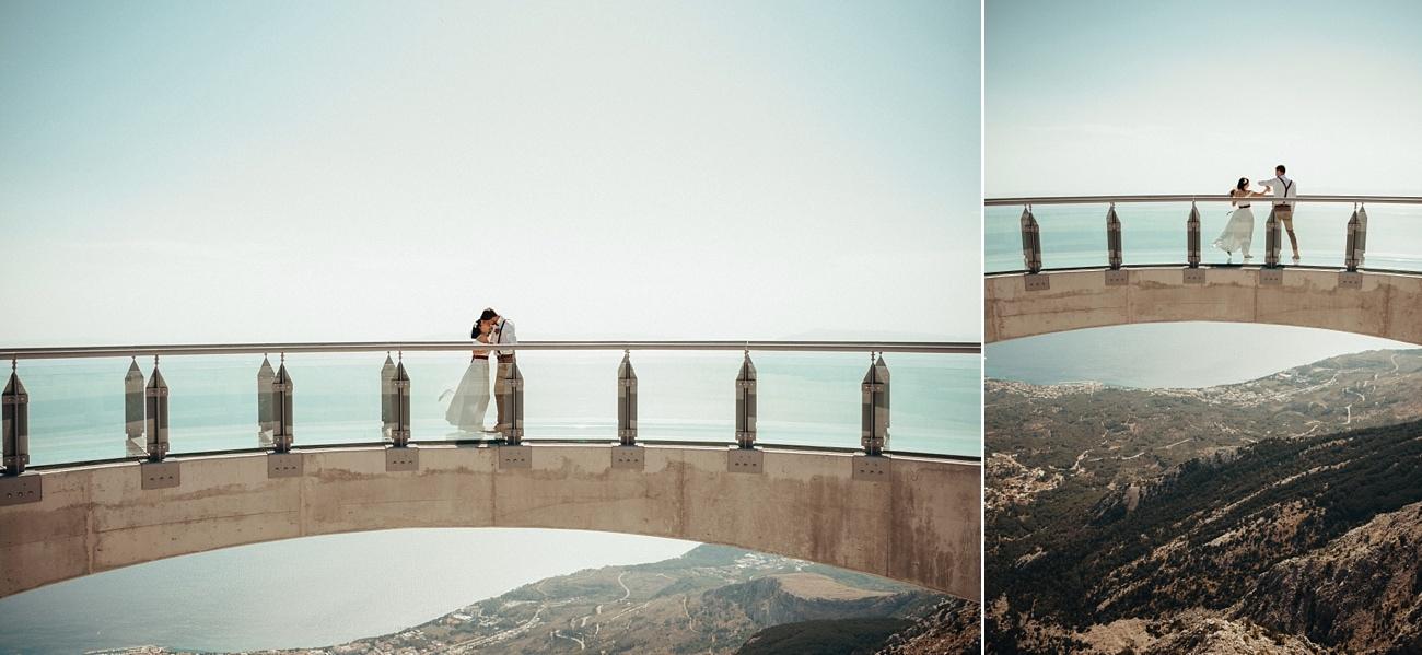 biokovo skywalk wedding photographer 0006 - Biokovo Skywalk Wedding