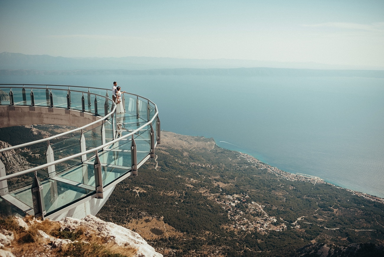 Biokovo Skywalk Wedding Photographer
